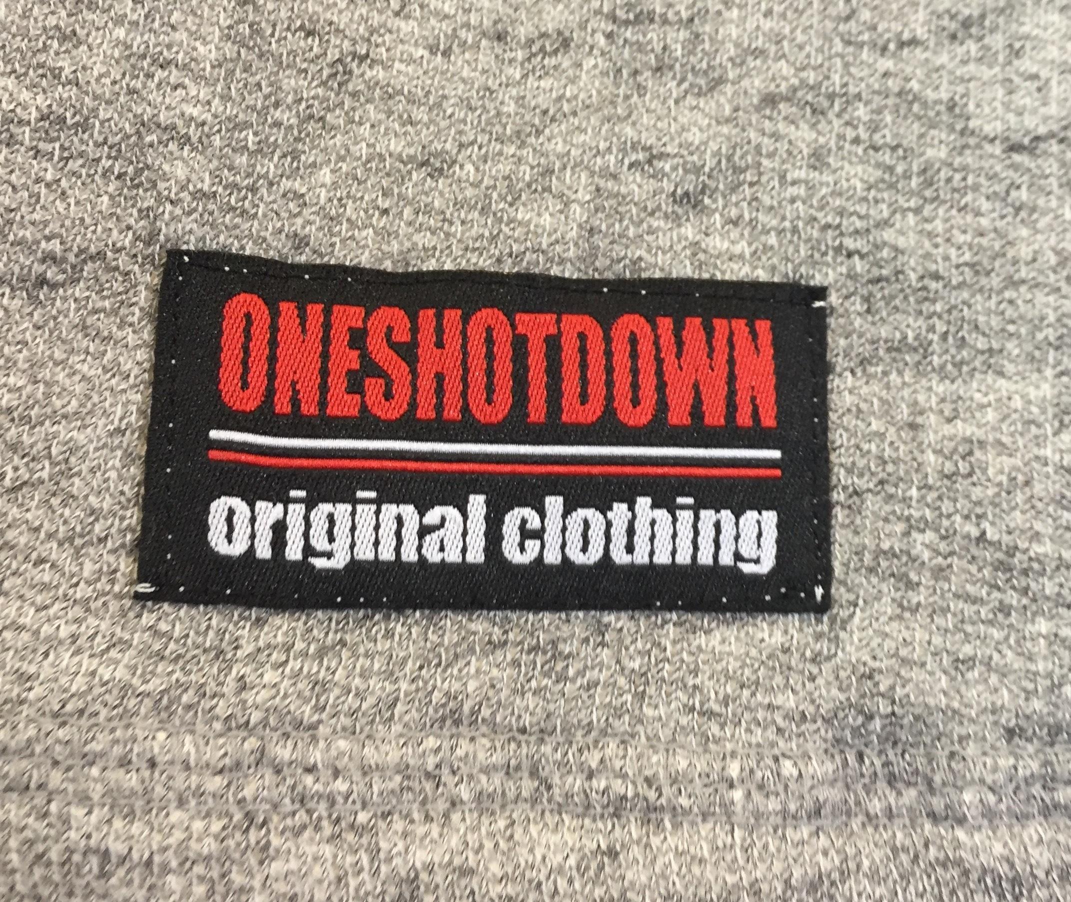 ONESHOTDOWN Xデザイン フレンチテリー ハーフパンツ - 画像5