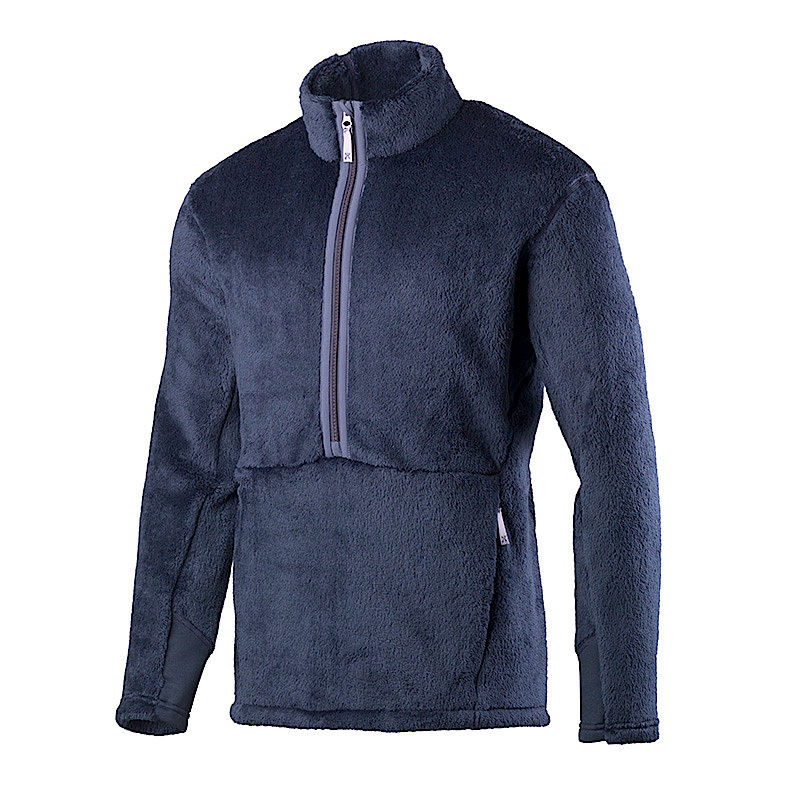 HOUDINI / HAIRY HALFZIP (BLUE ILLUSION)