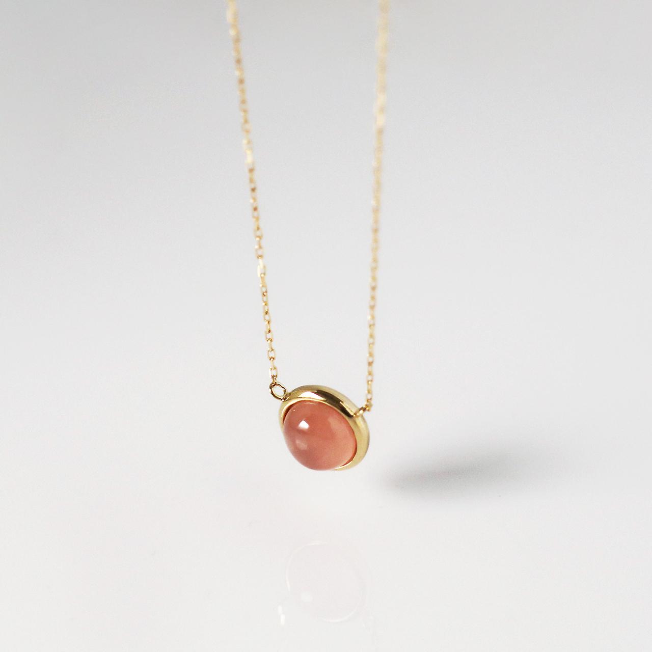 Rosy Drop / Necklace