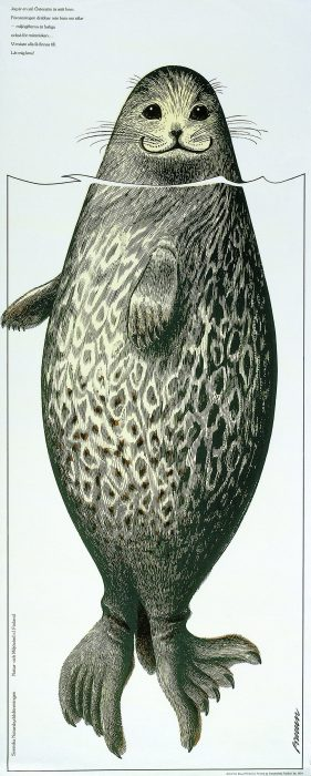 エリックブルーン 「サイマーワモンアザラシ」1974年