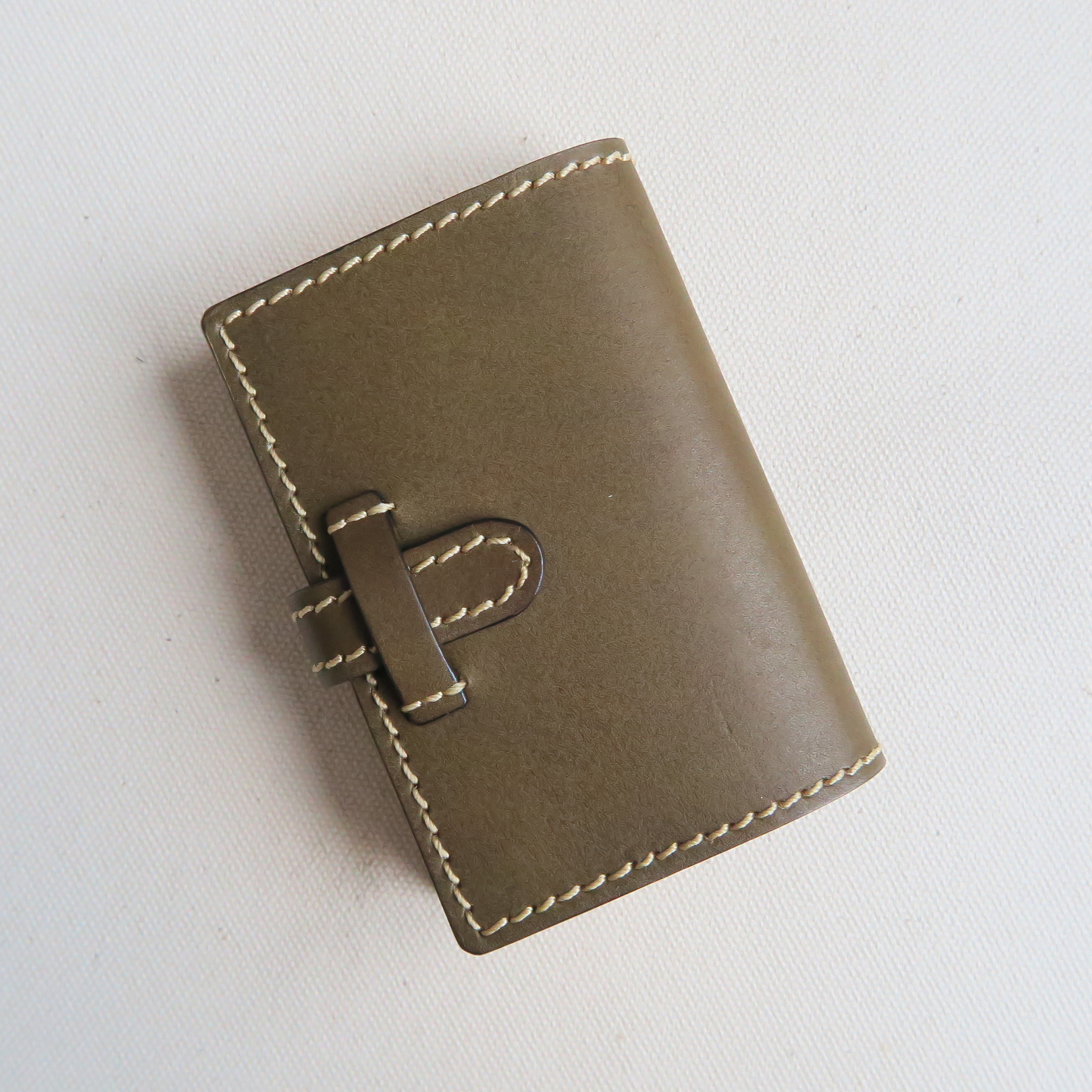 Pocket book card case GREEN