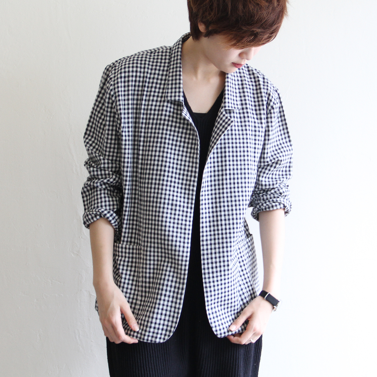 ROSEY STONE【 womens 】patti gingham check