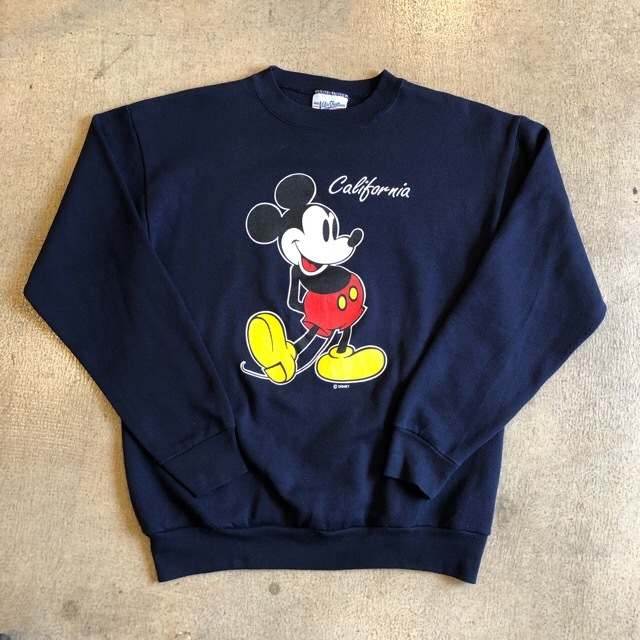 Mickey Mouse California Print Sweat ¥6,400+tax