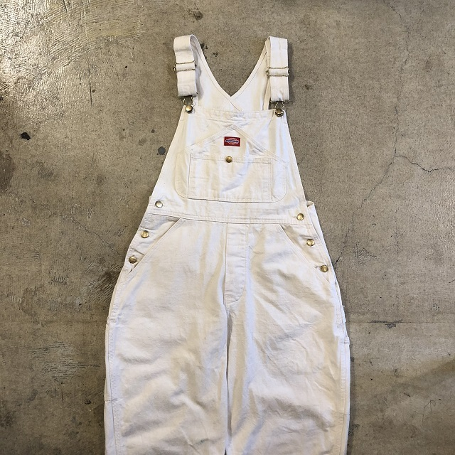 DICKIES WHITE OVERALLS #BT-151