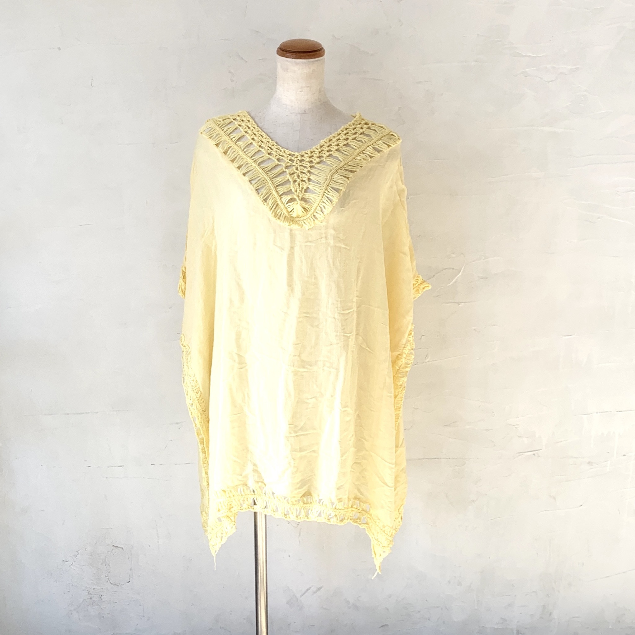 Poncho Top YL