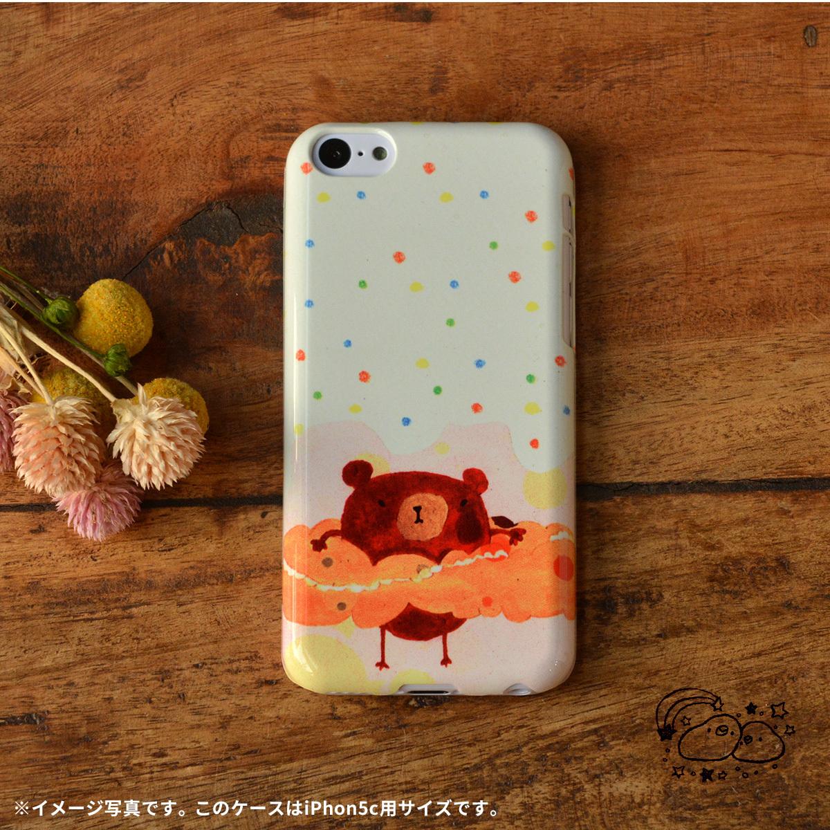 iphone5c ケース ドット iphone5c ドットケース iphone5c ケース 水玉 ぬん/chitch