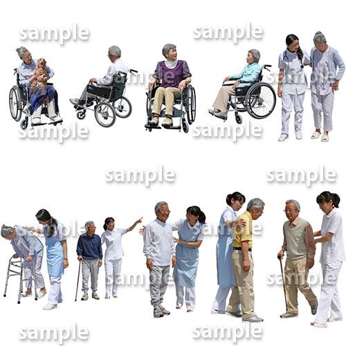 医療人物SketchUp素材10個 4p_set048 - 画像2