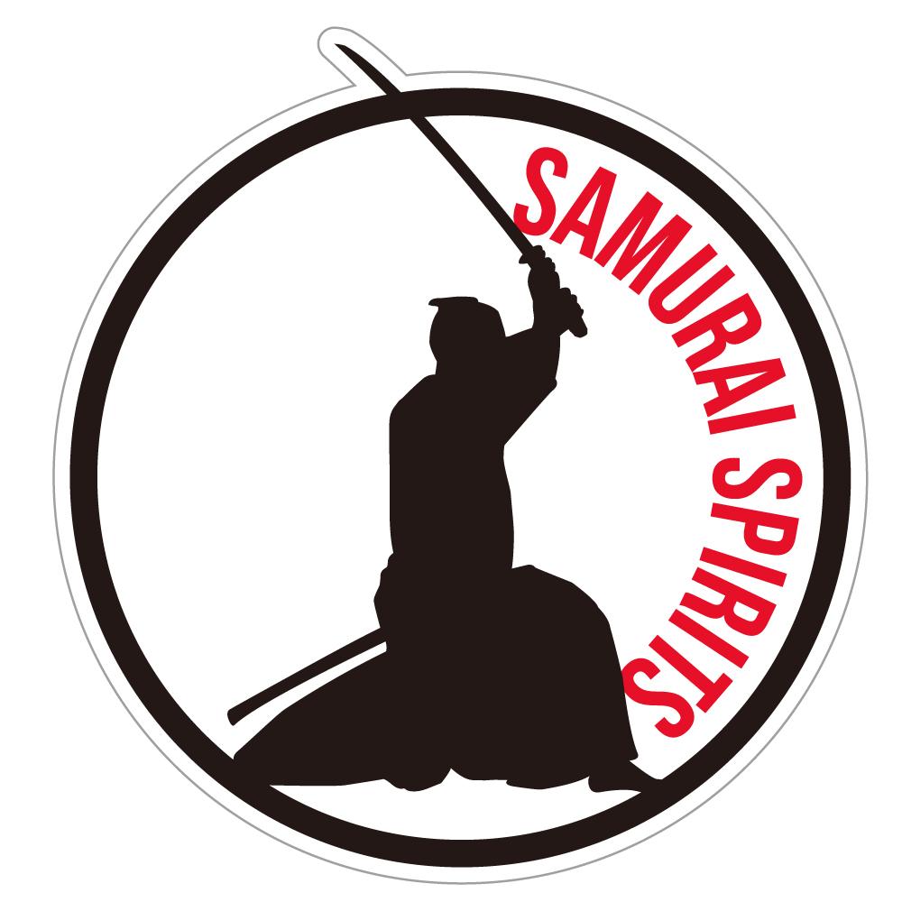 "116 SAMURAI SPIRITS ""California Market Center"" アメリカンステッカー スーツケース シール"