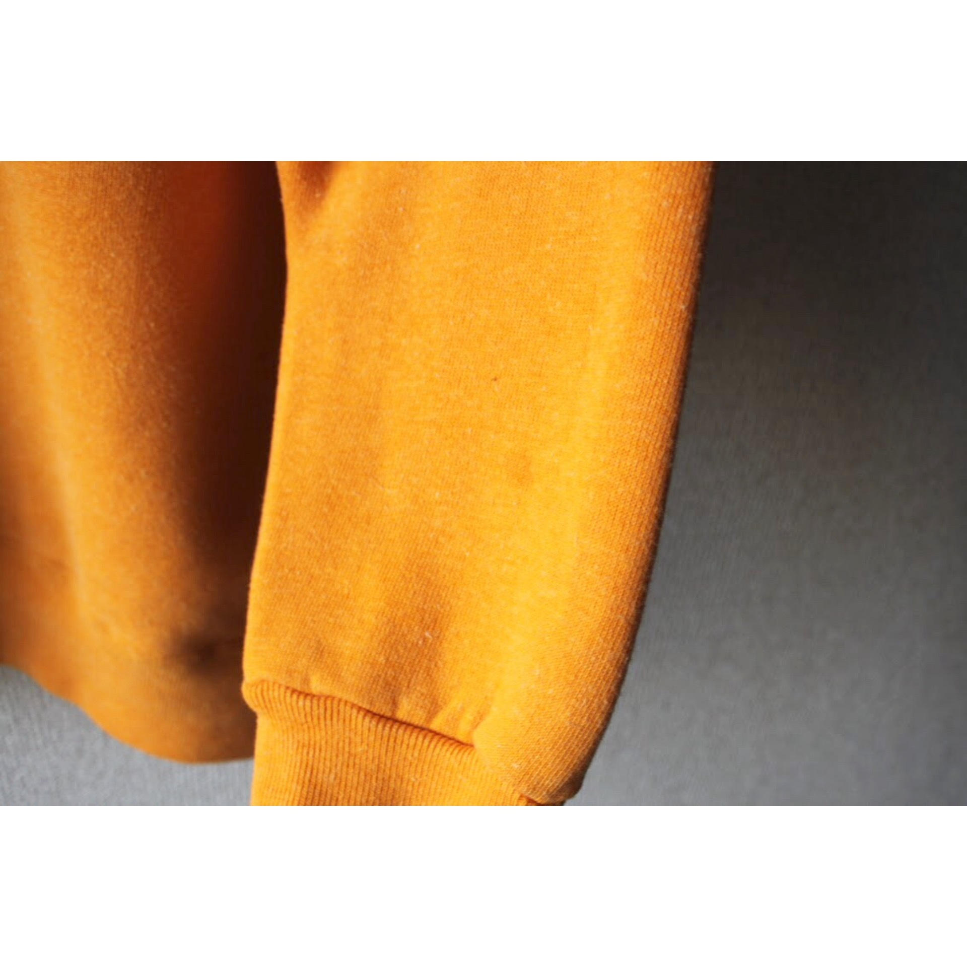 Vintage mustard yellow sweater by Champion
