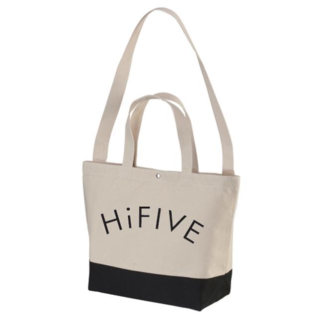 Hi FIVE  tote bag ハイファイブ トートバッグ ナチュラル