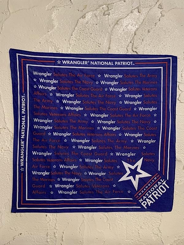 "BANDANA "" WRANGLER NATIONAL PATRIOT """