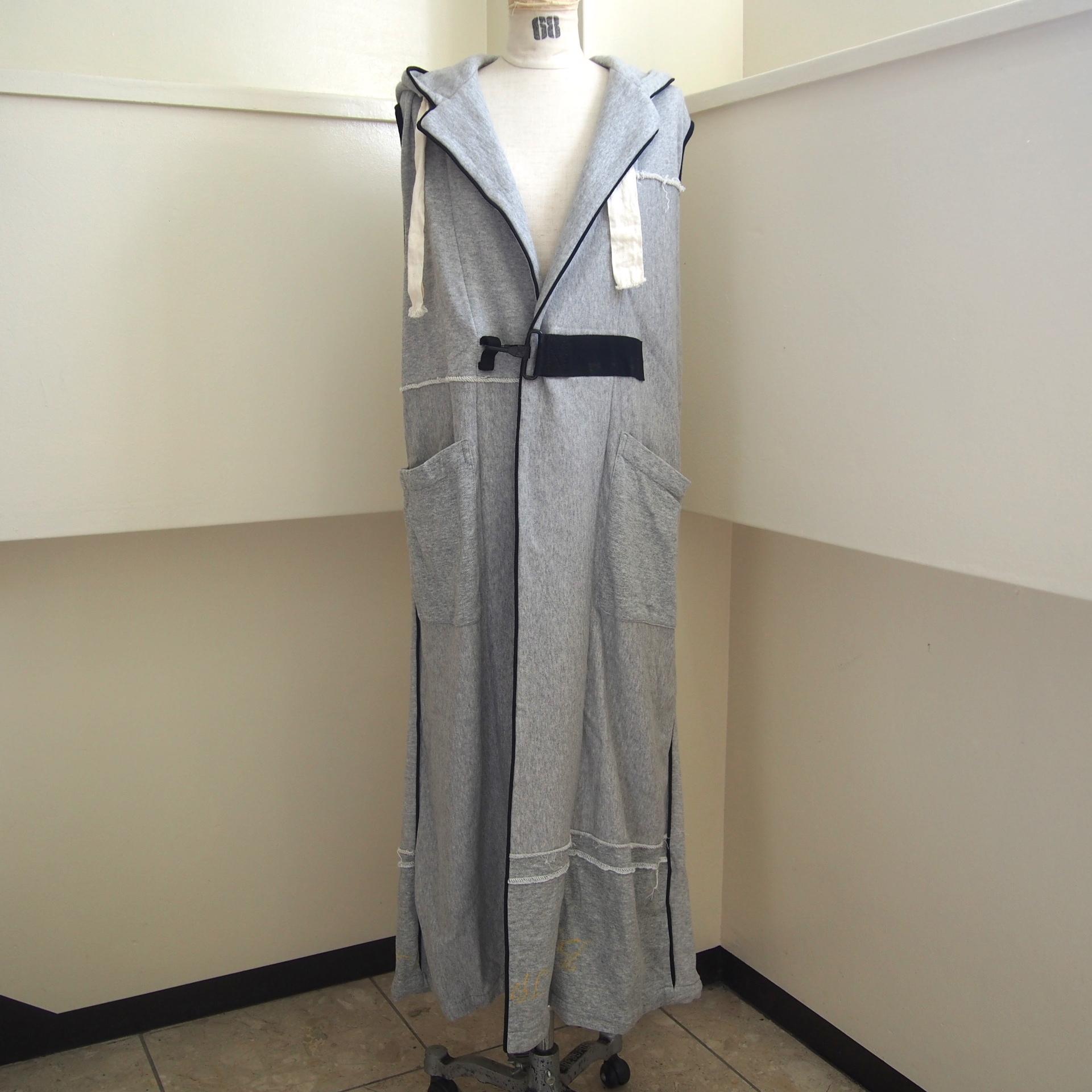 【ethical hippi】custom hoodie gilet(C) / 【エシカル ヒッピ】カスタム フーディ ジレ(C)