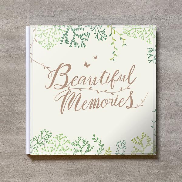 Tree's Board(Light Beige)-FAMILY_A4スクエア_6ページ/10カット_クラシックアルバム(アクリルカバー)