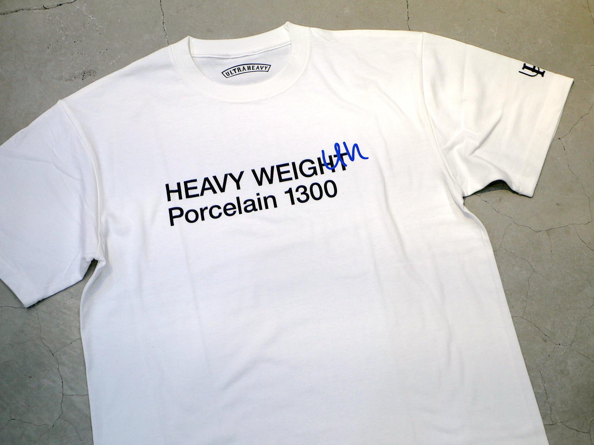 U.H / HEAVY-WEIGHT TEE(PORCELAIN 1300)