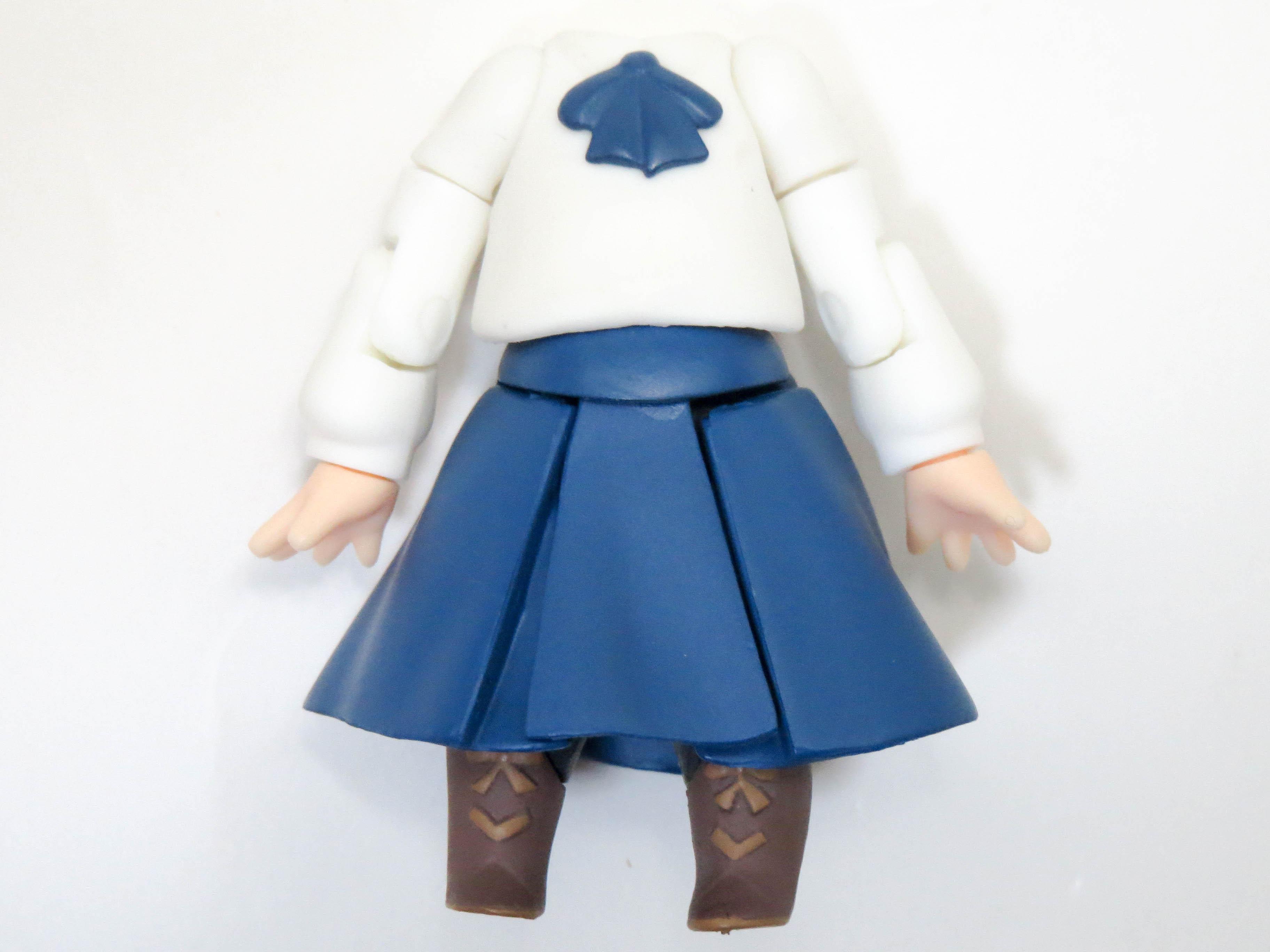 【225】 セイバー コンプリートファイル・エディション 体パーツ 私服 ねんどろいど