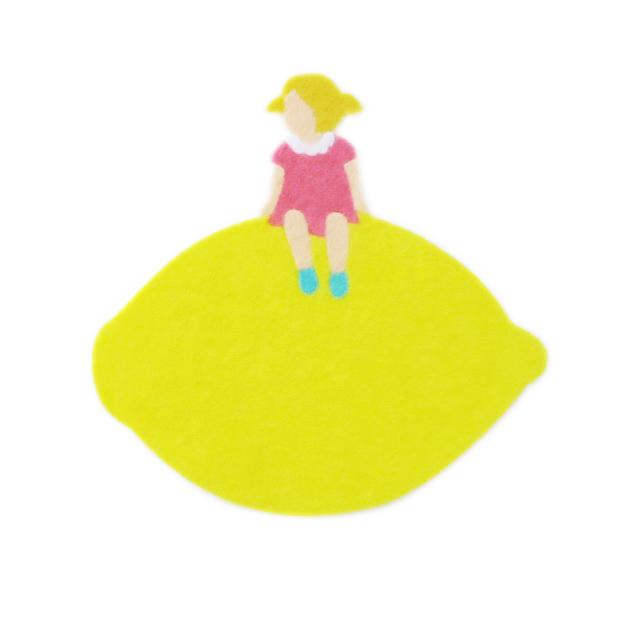 レモンステッカー(女の子)