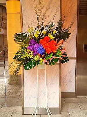 st025 スタンド花 デザイン系1段