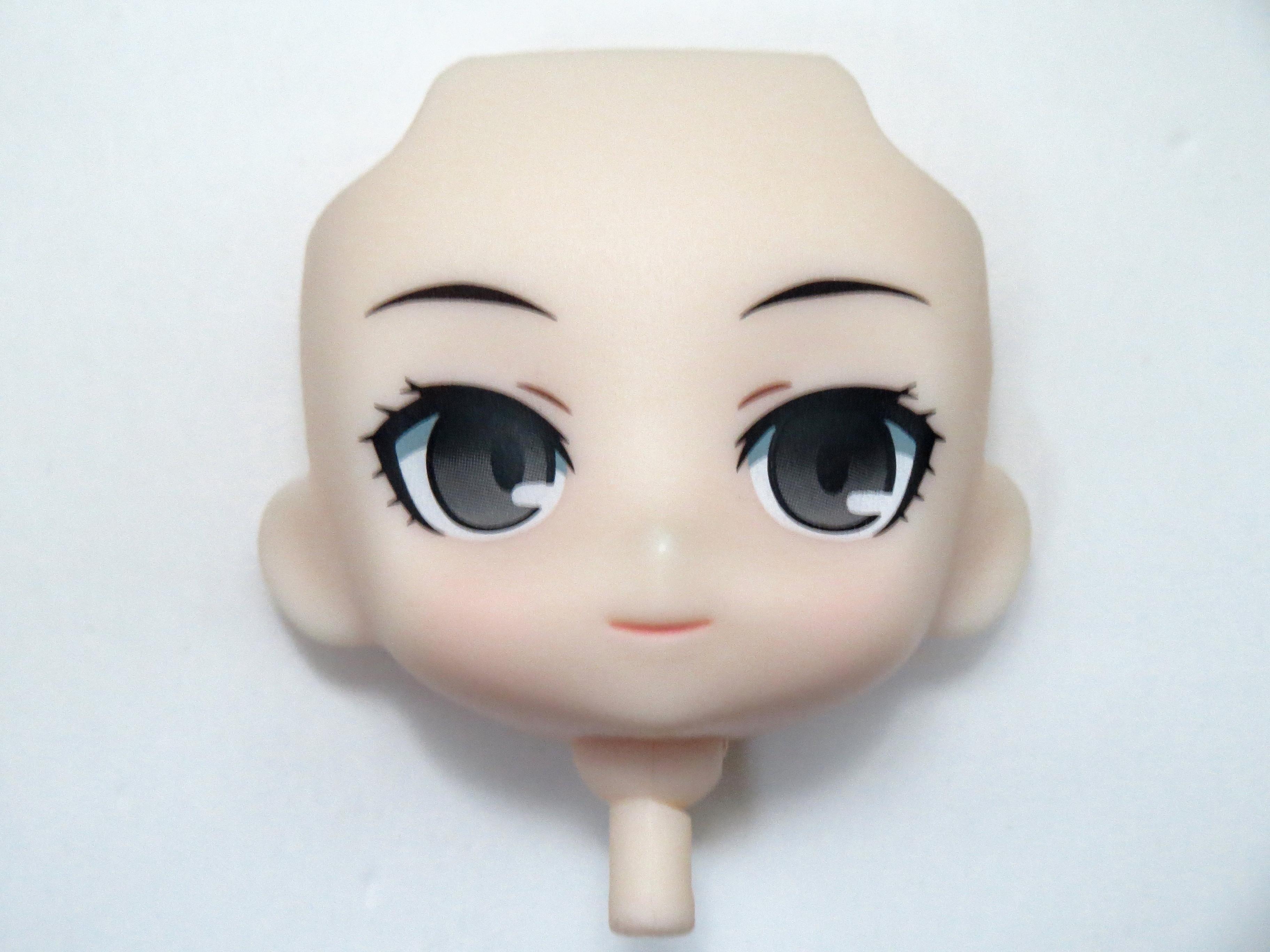 【SALE】【238】 天城雪子 顔パーツ ほほえみ顔 ねんどろいど