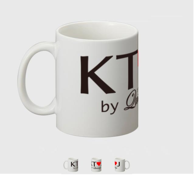 『KT♡J』ロゴマグカップ
