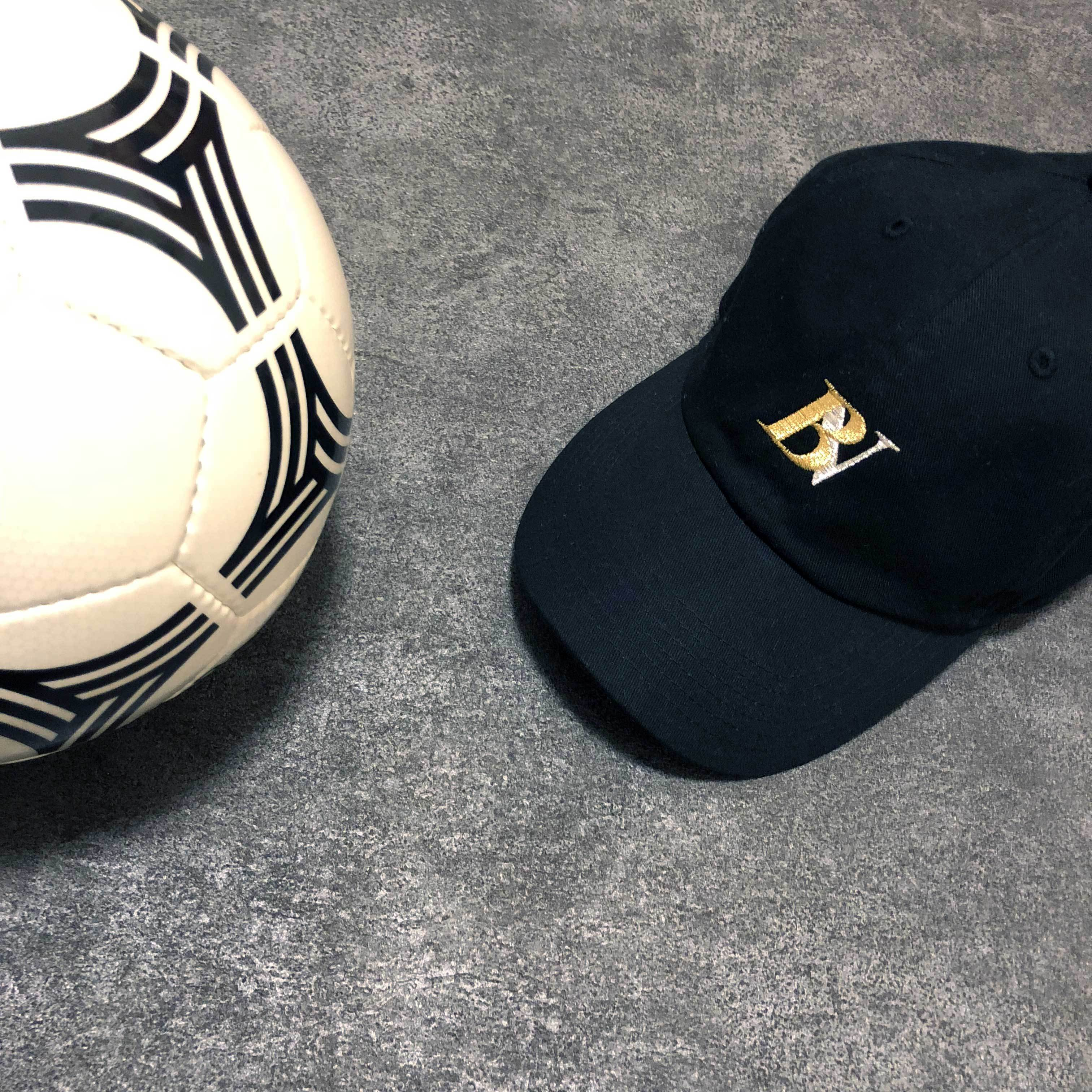 ★予約受付中【UNISEX】BV LOGO CAP (BLACK) / 2月上旬発送~