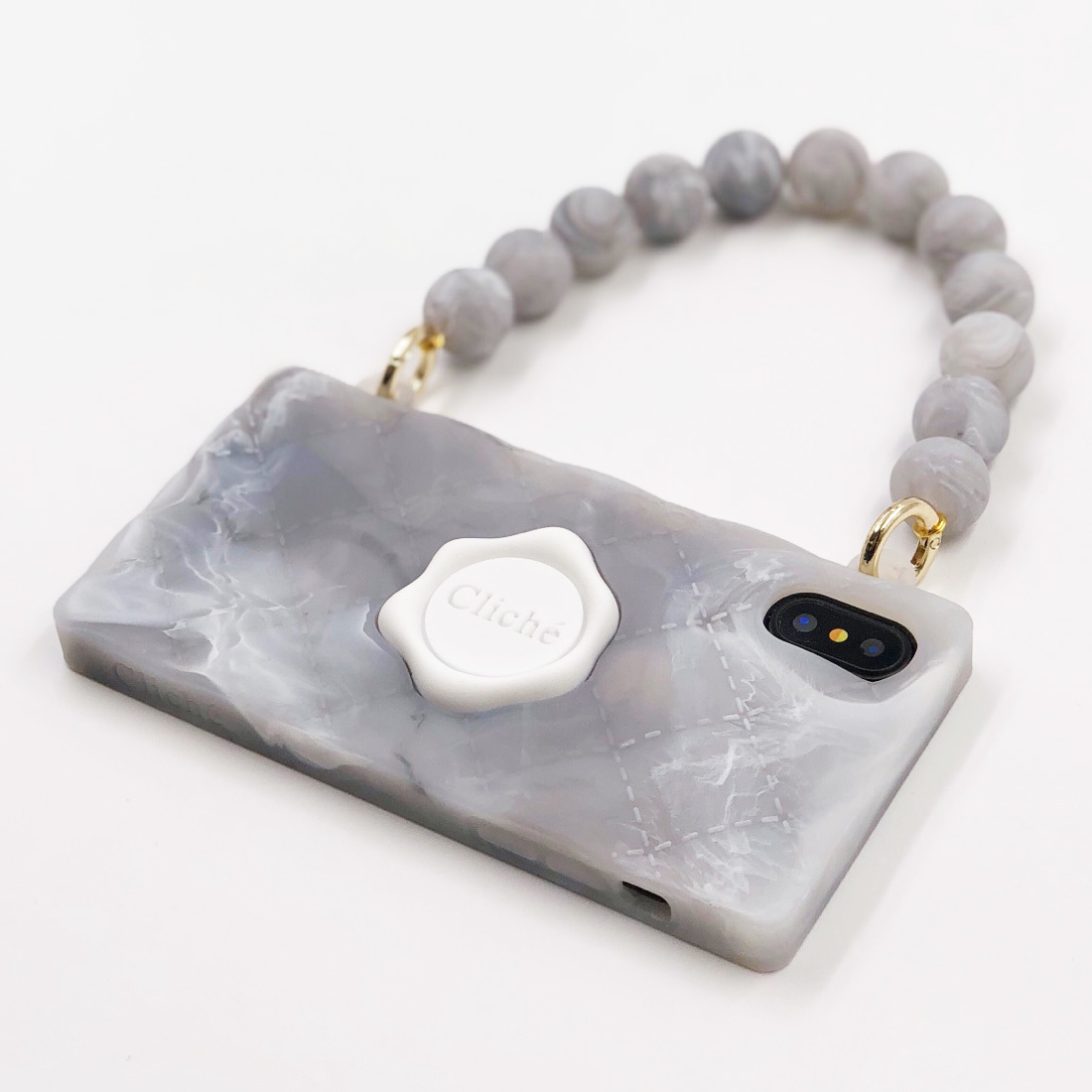MARBLE SEAL STAMPED for iPhoneXS/X