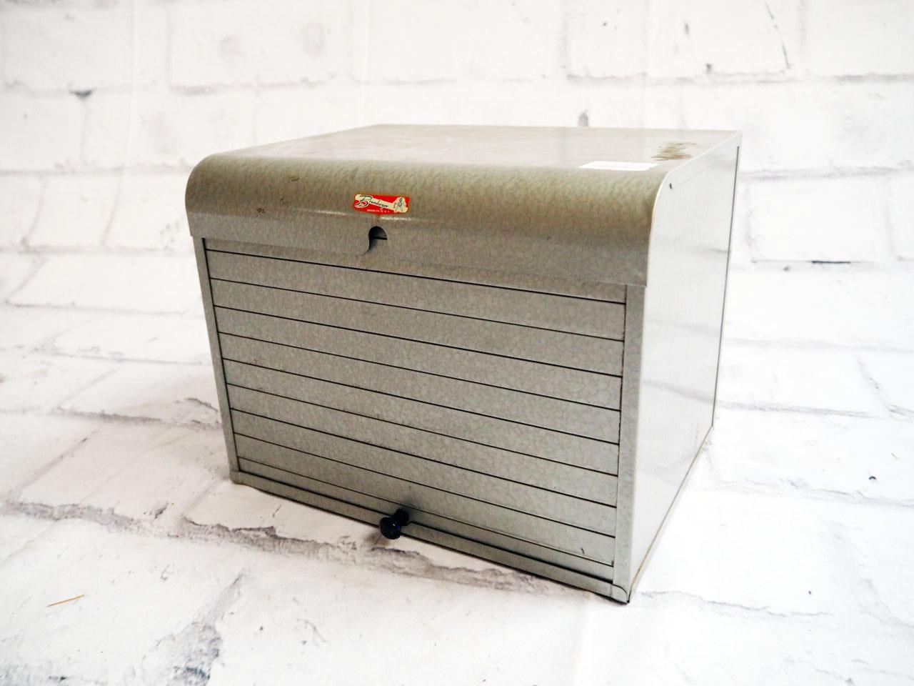 品番1360 BRUMBERGER ブルンバーガー 収納ケース ファイルケース 50's頃 ヴィンテージ