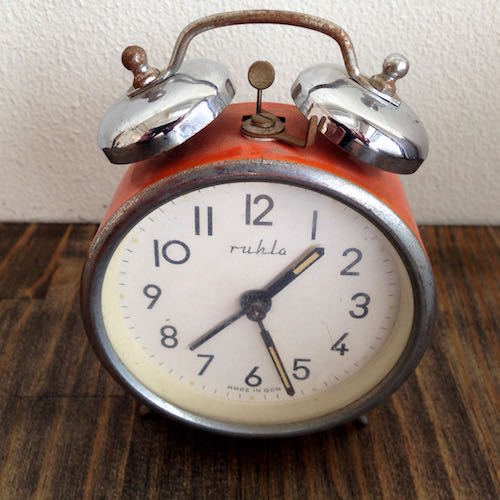 Vintage German Alarm Clock