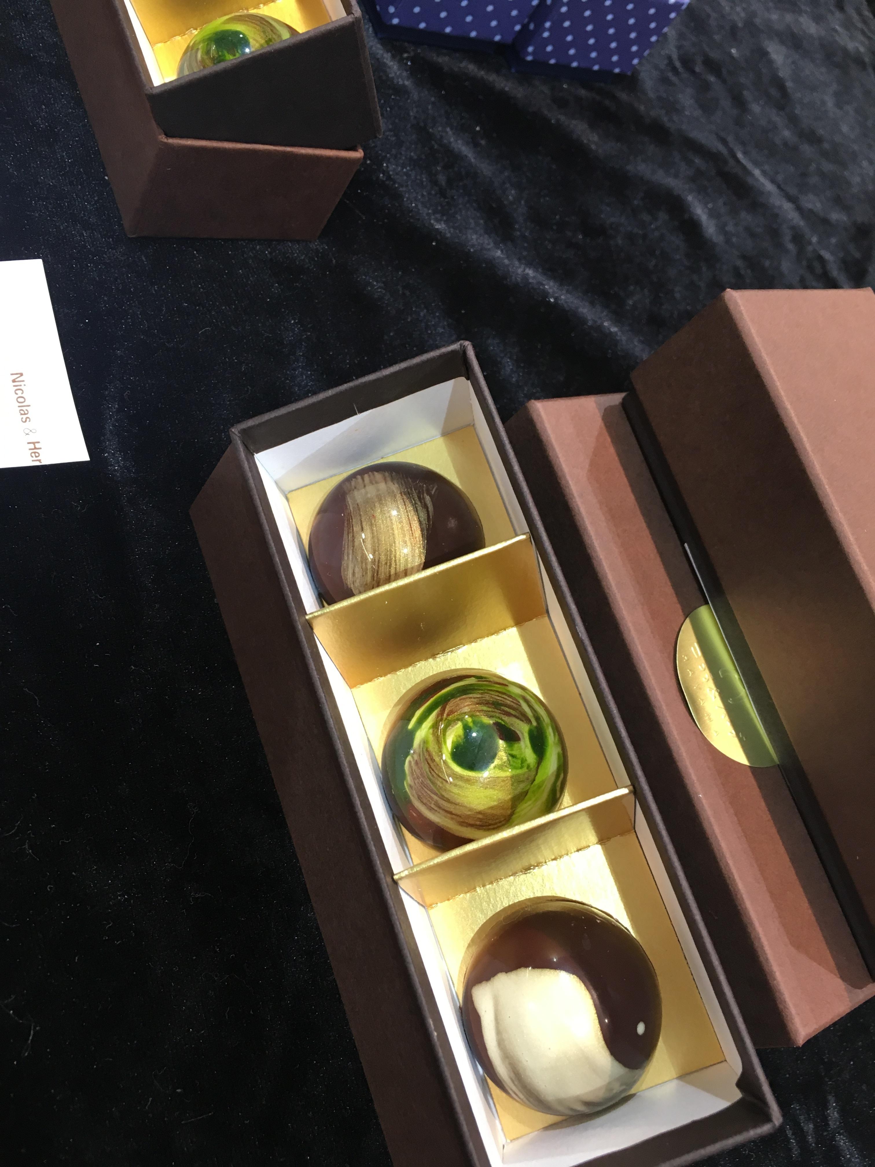 葉山の宝石 チョコレート3個入り