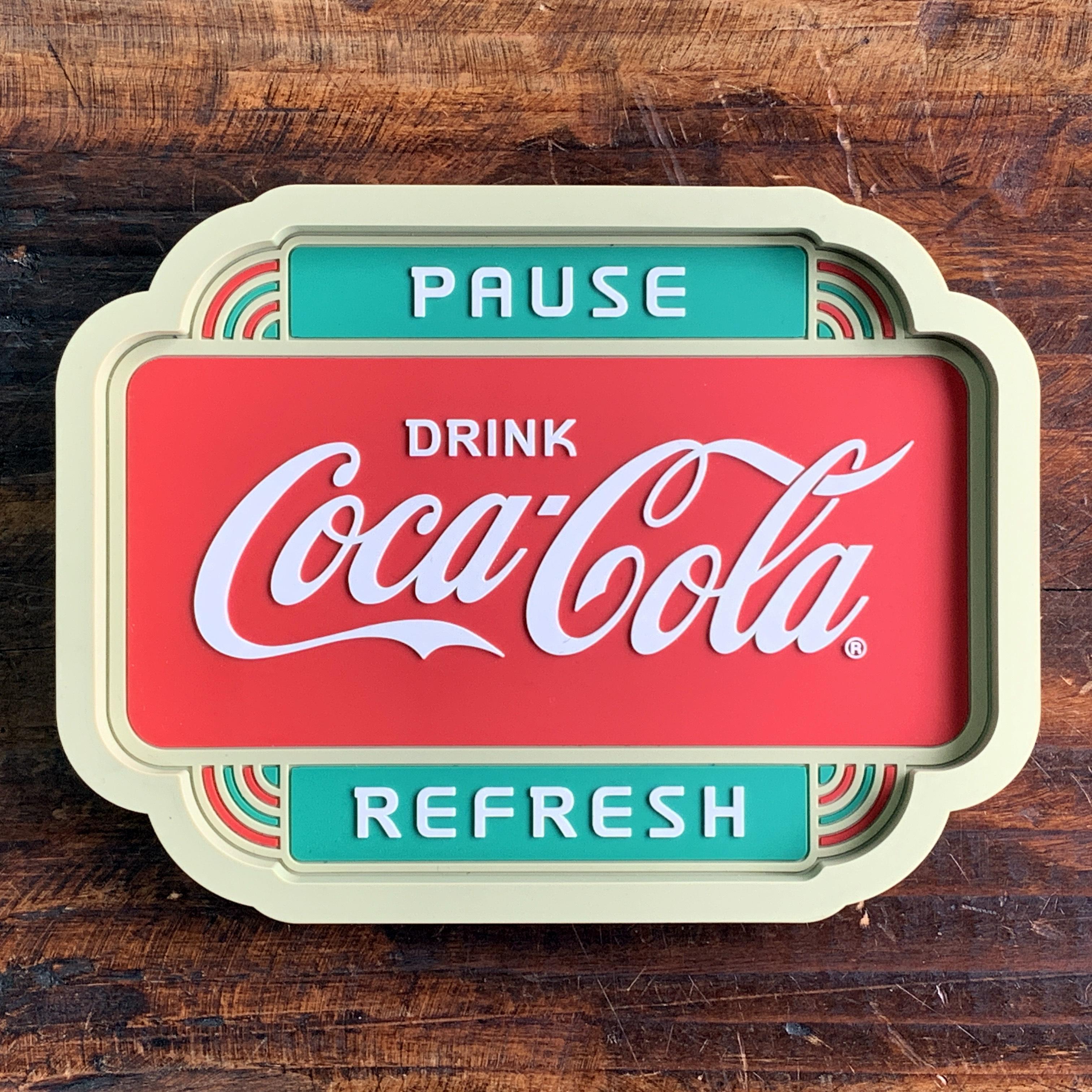 コカ・コーラ・ラバートレイ・アクセサリー入れ・小物入れ・クリップホルダー - PAUSE