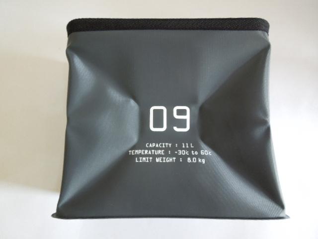 簡易バケツにもなる折り畳める手提げストレージBOX11L