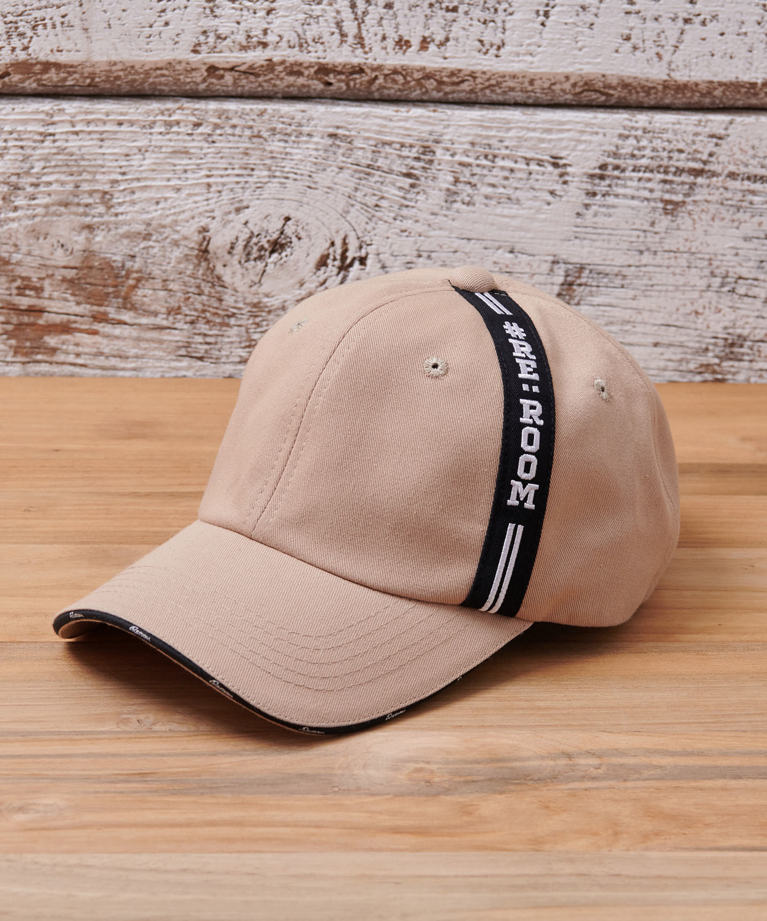LINE TAPE LOGO TWILL CAP[REH060]