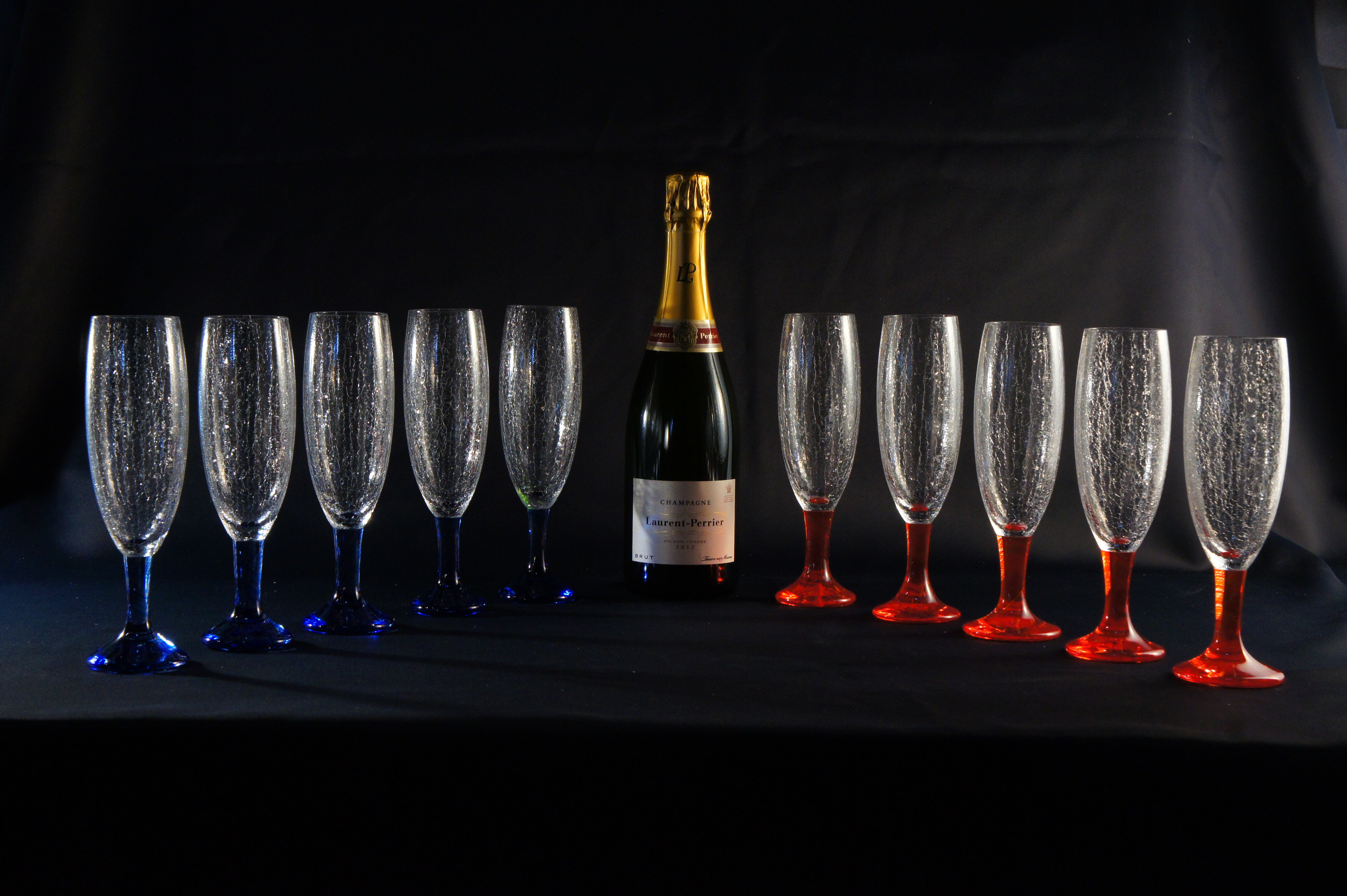 Glass work シャンパングラス Champagne Glasses