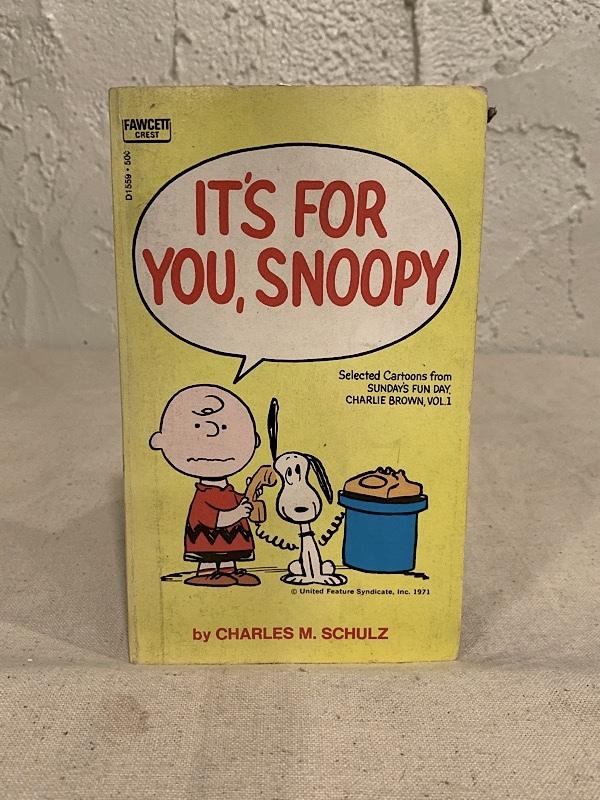 "COMIC BOOK "" PEANUTS SNOOPY """