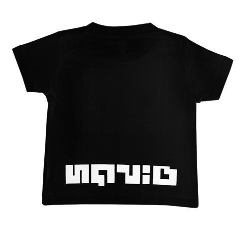 KOG Jr./キッズイカロゴTシャツ(ブラック) / THE KING OF GAMES