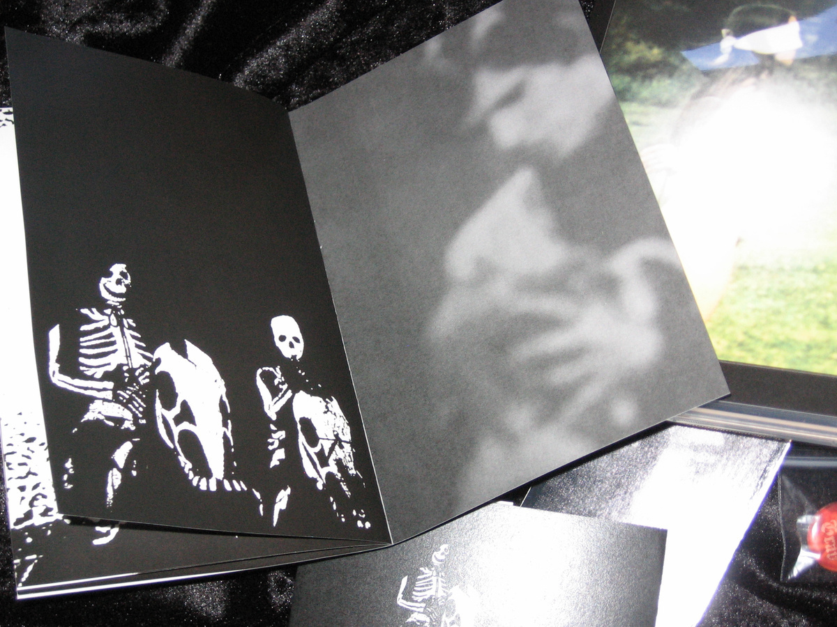 HUSERE GRAV -  You Are Transparent   CD + ZINE  - 画像2