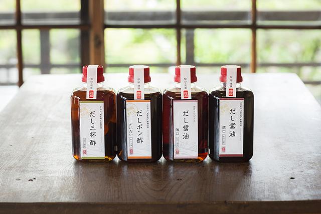 天然だし醤油(濃口・薄口)