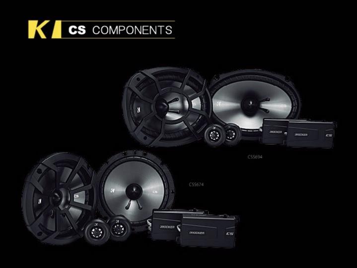 KICKER CS COMPONENTES  16.5