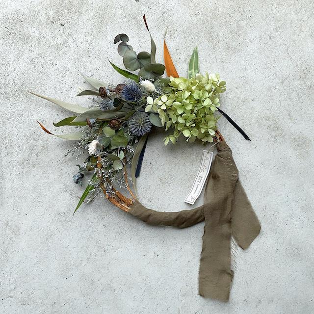 hiba dryflower wreath