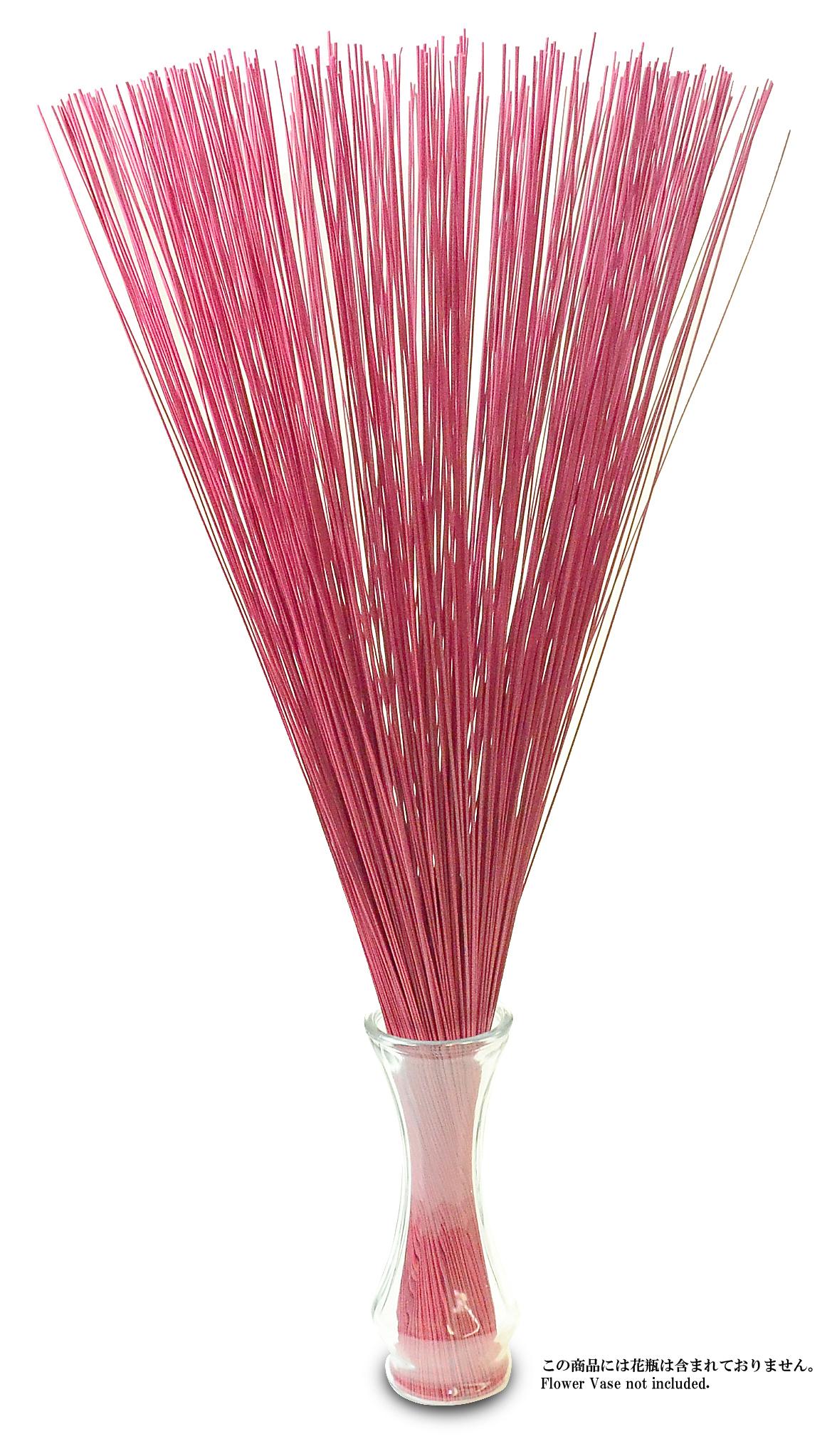 【イ草フラワー レッド】Rush Grass Flower RED 70cm