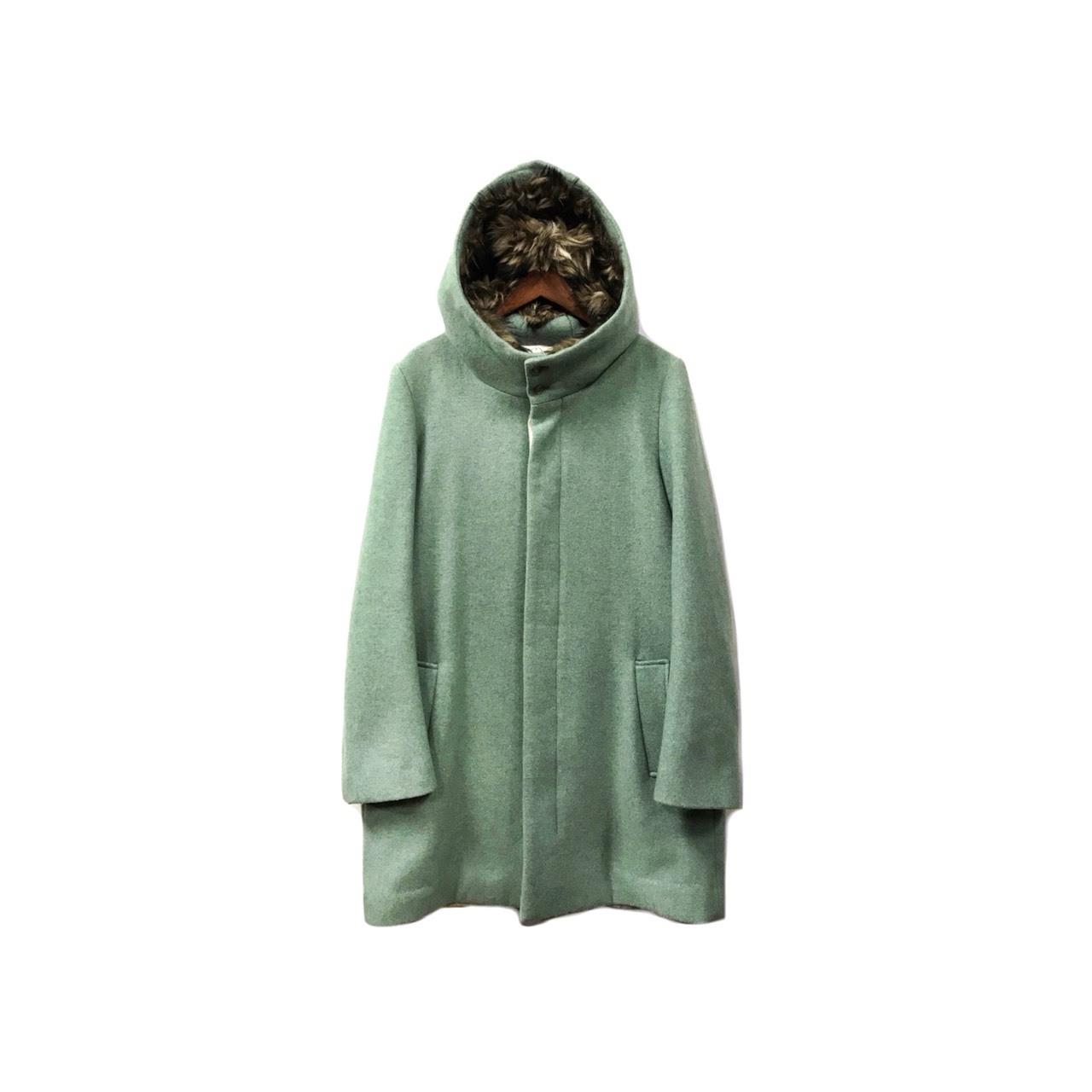 ohta - Melton Hooded Coat (size - S/M) ¥28000+tax → ¥22400+tax