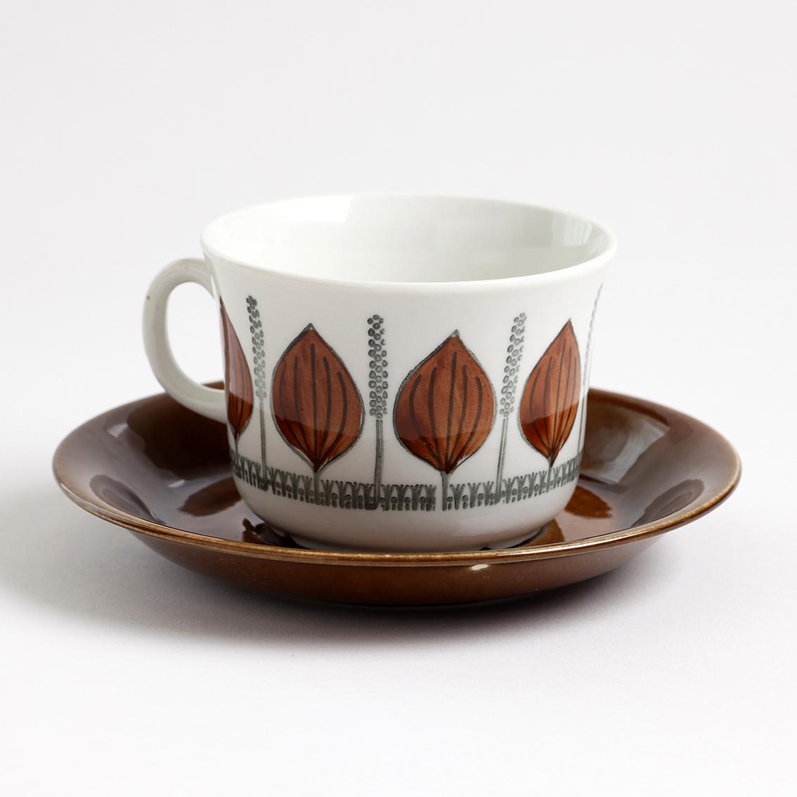 GEFLE ゲフレ Groblad グロブラッド ティーカップ&ソーサー - 1 北欧ヴィンテージ