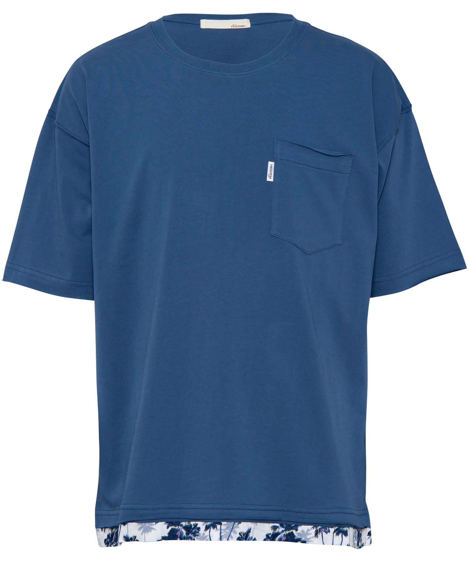 LAYERED ALOHA BIG T-shirt[REC274]