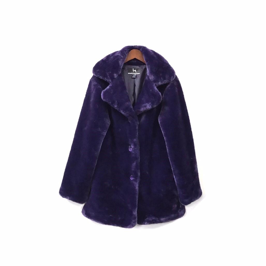 USED - Fake Fur Coat ¥15000+tax