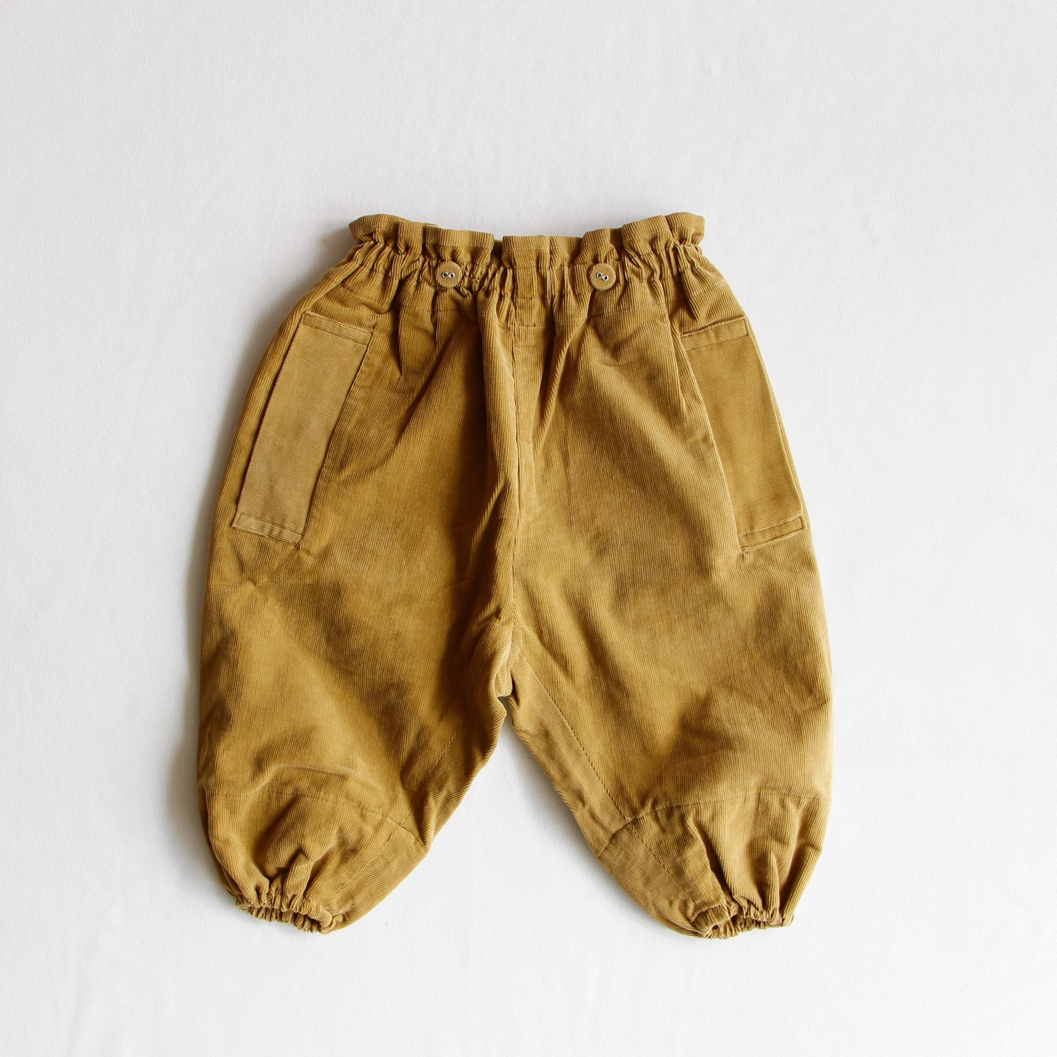 《mina perhonen 2018AW》bonbon パンツ / khaki / 110-130cm