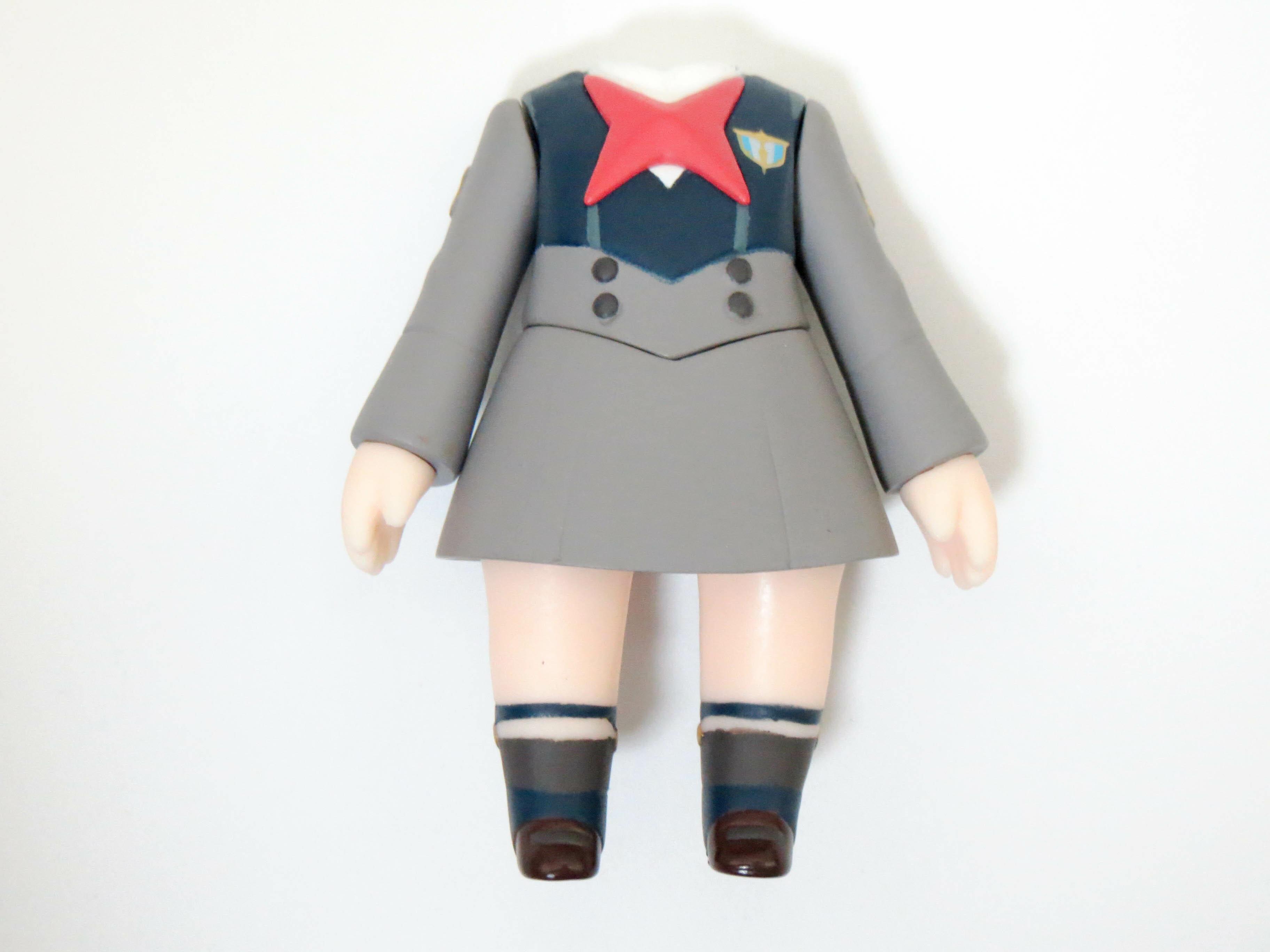【SALE】【987】 イチゴ 体パーツ 制服 ねんどろいど