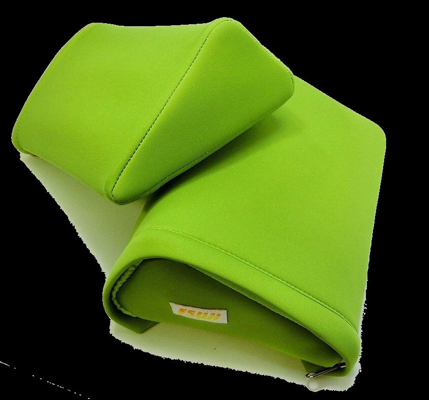 秋山式ストレッチ枕『ESUJI(エスジ・S字)』枕のみ×2個(カバー付き)