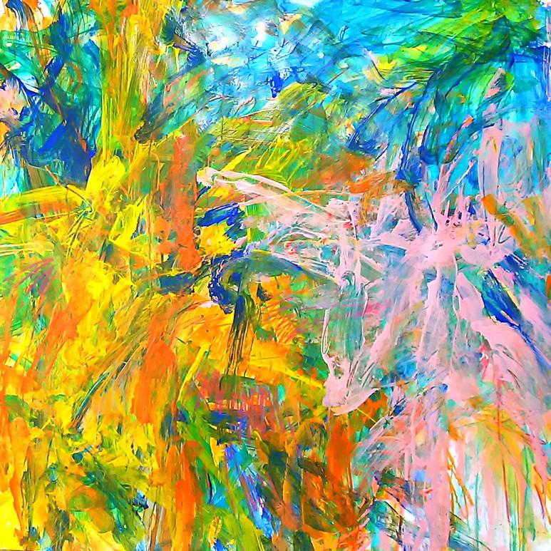 絵画 インテリア アートパネル 雑貨 壁掛け 置物 おしゃれ 抽象画 現代アート ロココロ 画家 : tamajapan 作品 : t-20