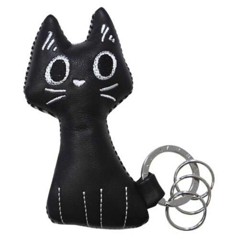 J-CAT キーリング クロ
