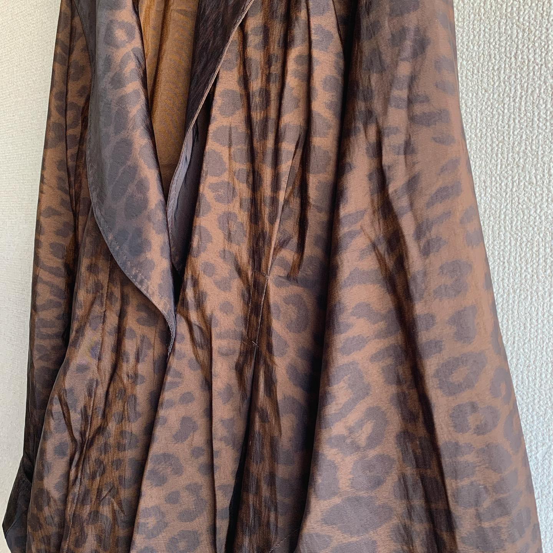 【SALE】vintage leopard design coat