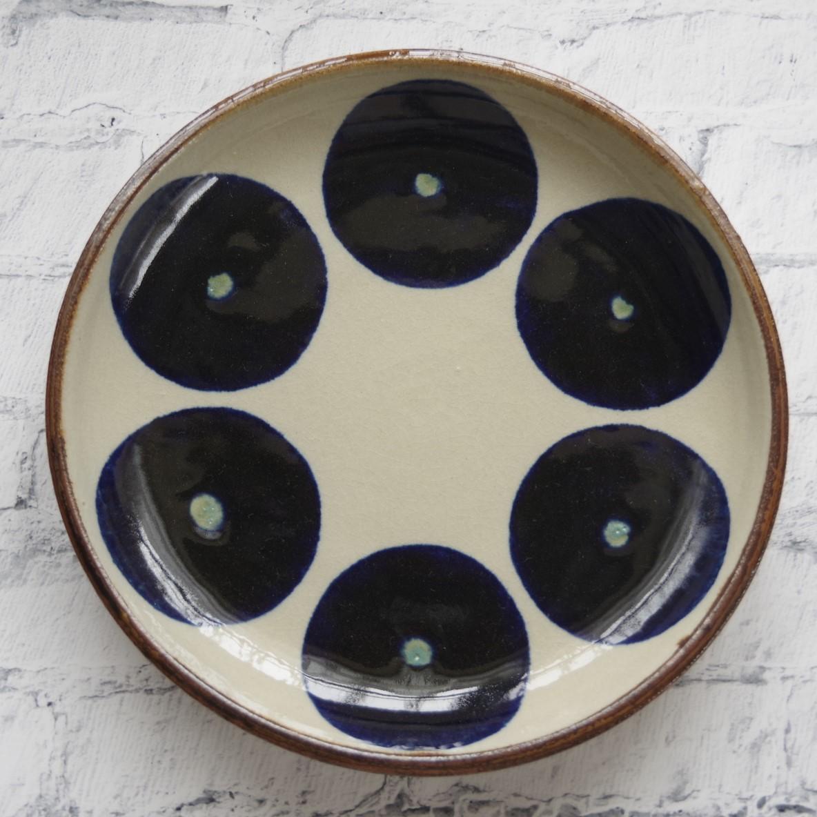やちむん【エドメ陶房】8寸皿